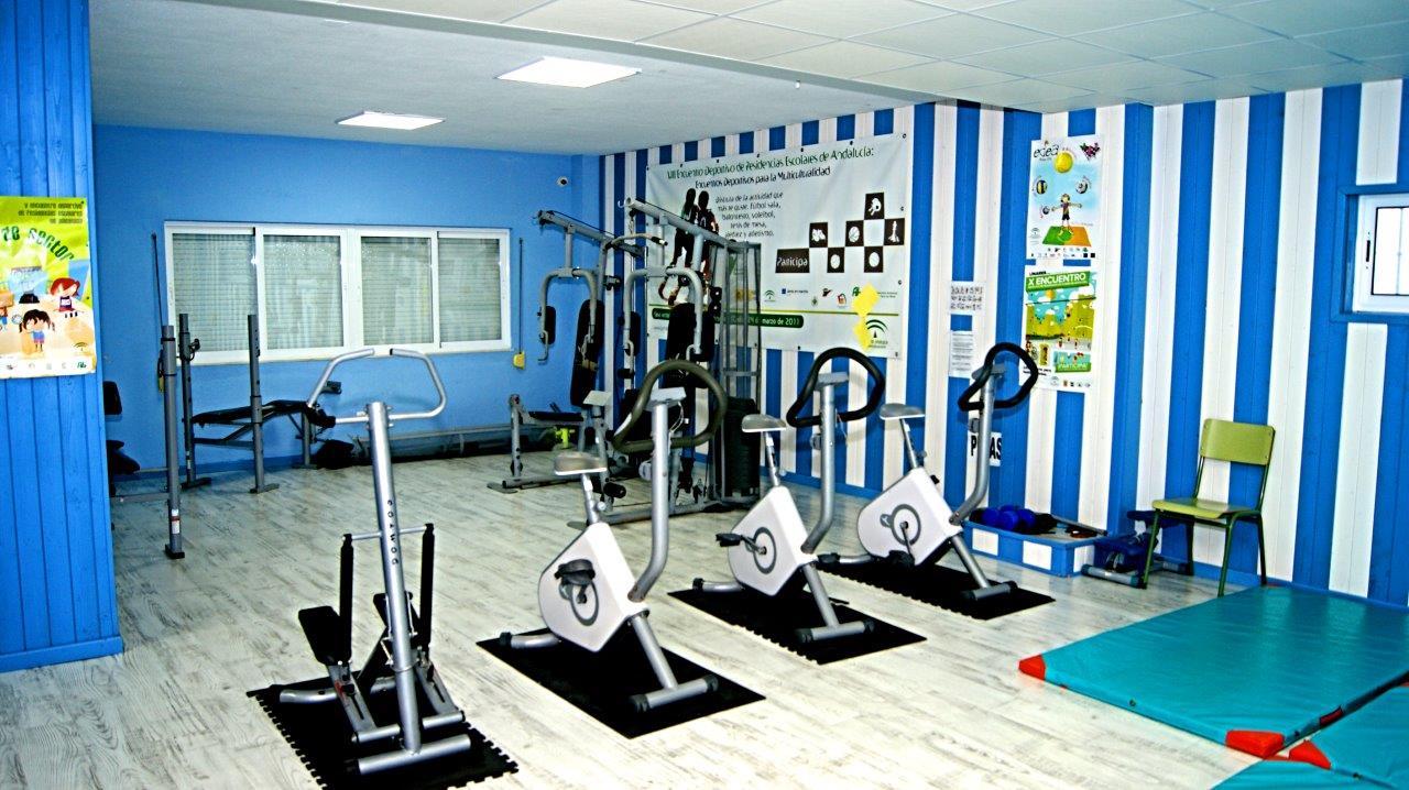 Visite nuestras instalaciones residencial escolar jerez for Gimnasio 02 huelva